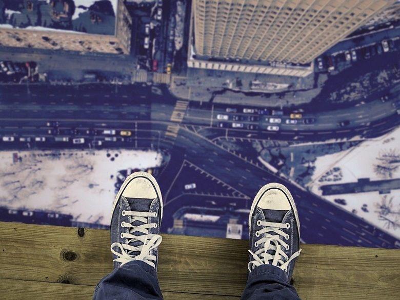 La fobia a las alturas (acrofobia) es un ejemplo de Fobia situacional