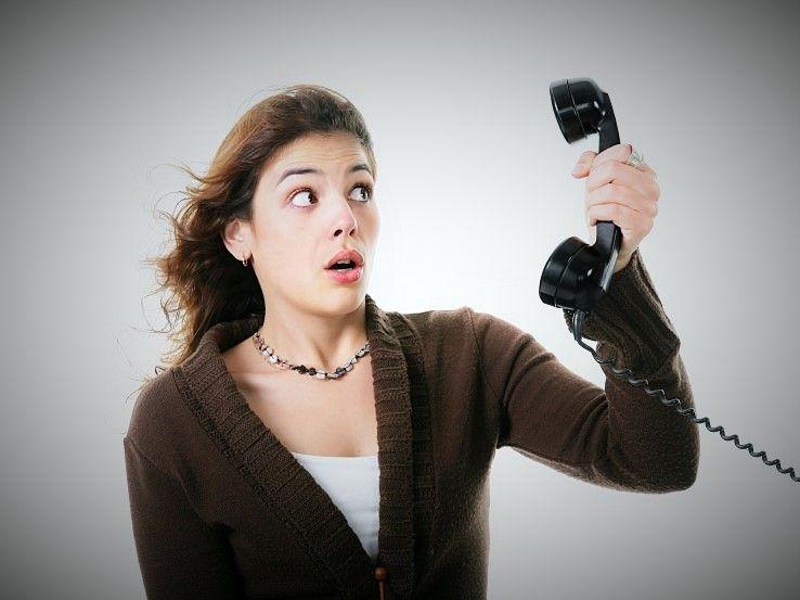 Telefonofobia => Fobia a hablar por teléfono